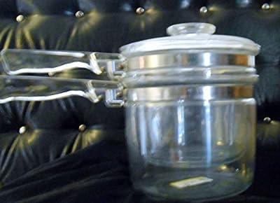 Vintage Pyrex Flameware Double Boiler 6283