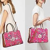 DASEIN Women Large Satchel Handbag Shoulder Purse