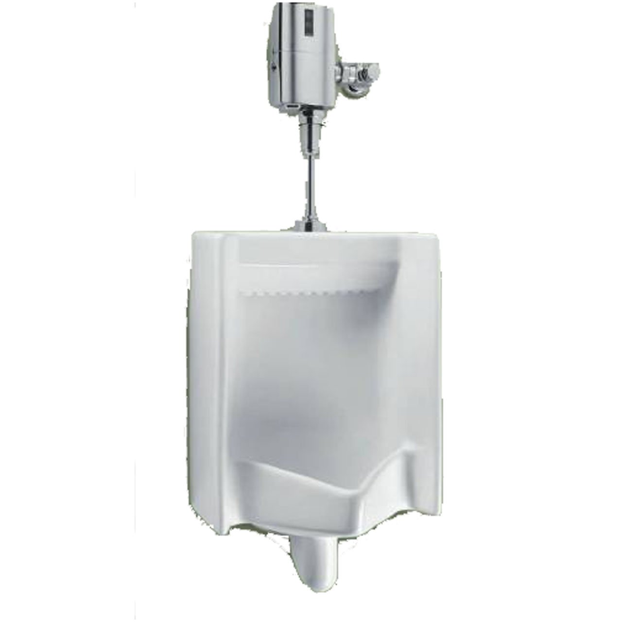 Toto UE445-1UN#01 Commercial UFV 0.125GPF Washout Urinal with EcoPower Flush Valve, Small, Cotton White