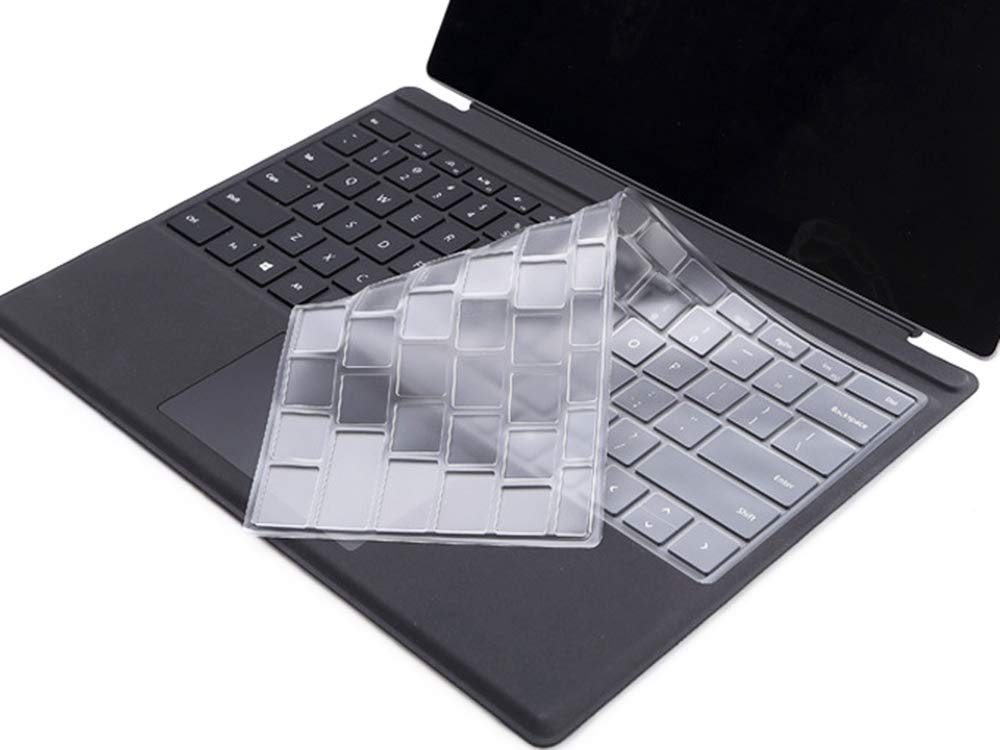 Clear Keyboard Protective Skin Cover Compatible with Microsoft Surface Pro  4 & 2017/2018 Version Microsoft Surface Pro (Not Fit Surface Laptop 2017 /