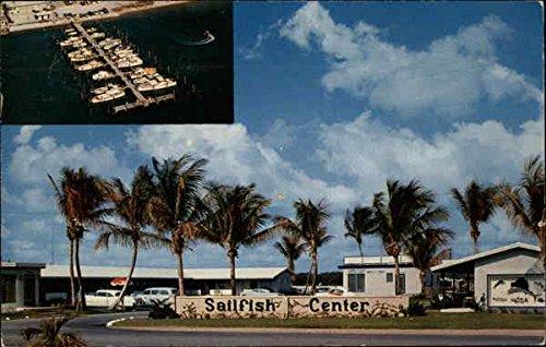 Riviera Center (Sailfish Center Riviera Beach, Florida Original Vintage Postcard)