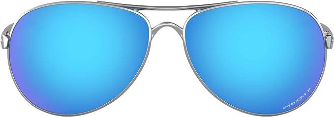 REACCIÓN Oakley cromo pulido Prizm Sapphire gafas de sol ...