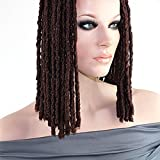 1 Pack of Best Seller, Colour 1B, Nubian Locks Braid BLACK Dreadlocks. Synthetic Locks. Dreads. Recommended