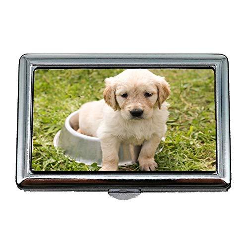 Paisible Visite Rottweiler Cigarette Case6 Chien Inoxydable Acier De En Case Porte Pet0 Box Race Pure Carte Sqqf8