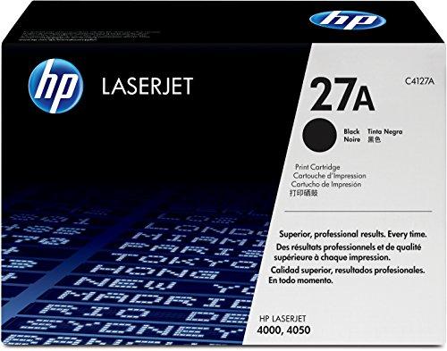 HP 27A (C4127A) Black Original LaserJet Toner Cartridge