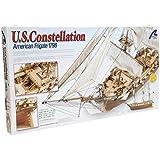 Artesania Latina U.s. Constellation American Frigate 1798 Wooden Model Ship Kit