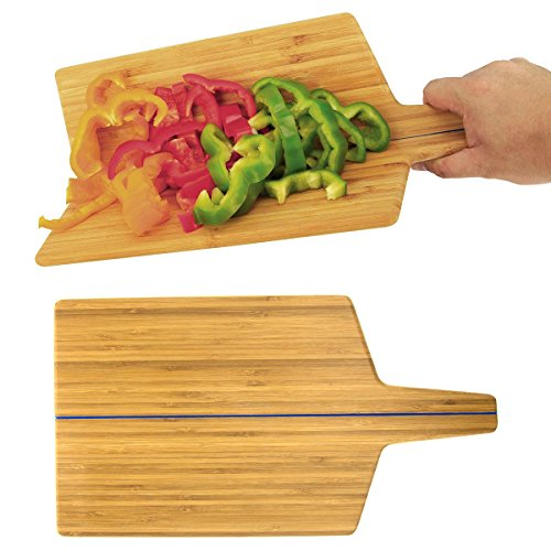 2 Bendable Bamboo Cutting Boards Folding Wood Paddle Block Set Kitchen Chopping (Folding Cutting Board compare prices)