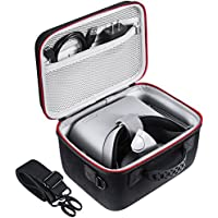 Zadii Protective Carrying Case Compatible with Oculus Go VR Headset with Separate Customized Compartment, Fit Oculus Go Virtual Reality Headset, Controller, Power Adapter and Charging Cable