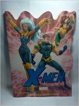 X-Men Coloring & Activity Book: Marvel, R Williams, D Williams ...