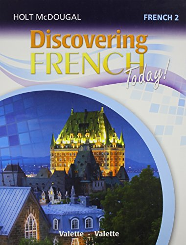 Discovering French Today: Student Edition Level 2 2013 (French Edition) ()