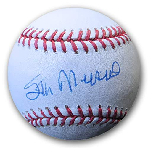 (Stan Musial Signed Autographed MLB Baseball St. Louis Cardinals COA)