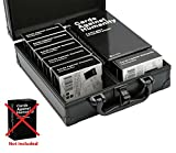Cards Against Humanity Case   Cards Sold Separately   The Big Black Metal Box by Soundbass   Fits Main Game + 6 x Original Expansions   Includes 8 Dividers   Fits up to 1550 Loose Unsleeved Cards