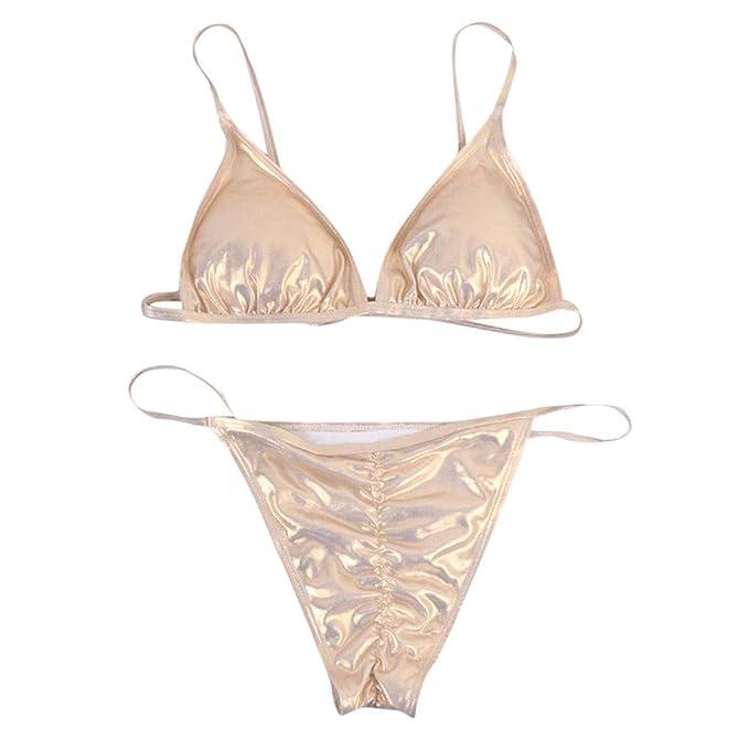 7700800645 Zolimx Bikini Set Costume da Bagno Donna Due Pezzi,Donne Fascia Bikini  Fasciatura Push-Up Costume da Bagno Brasiliano Costumi da Bagno Beachwear:  Amazon.it: ...
