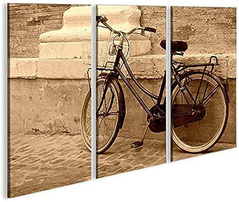 islandburner De Imágenes sobre Lienzo Bicicleta Holandesa Sepia ...