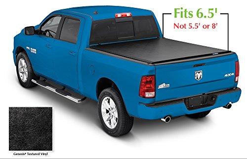 Lund 96064 Genesis Roll Up Truck Bed Tonneau Cover for 2002-2018 Dodge Ram 1500; 2003-2018 Ram 2500, 3500 | Fits 6.5' Bed (Excludes models w/RamBox)