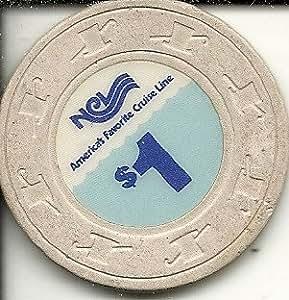 Amazon Com 1 Ncl Cruise Line Ship Casino Chip Very Rare