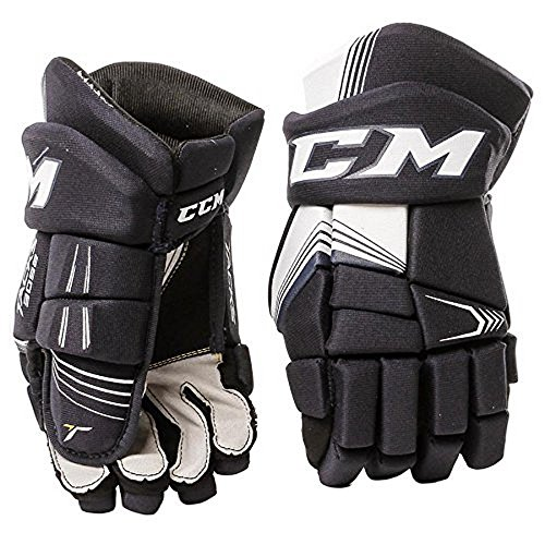CCM Unisex HG3092 TAC JR Gloves, Navy, 10