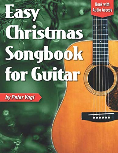 Easy Christmas Songbook for Guitar: Book with Online Audio Access (For Christmas Guitar Songs Chords)