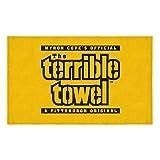 """Pittsburgh Steelers Terrible Towel Beach Towel 30"""" x 60"""" (New Version)"""