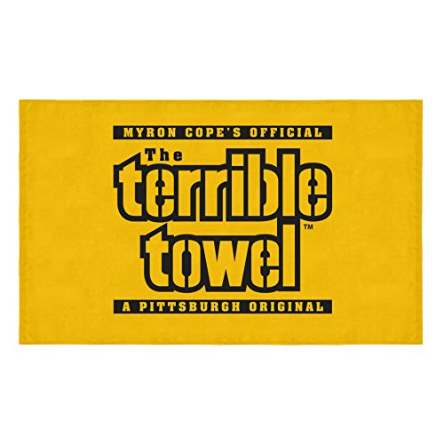 Pittsburgh Steelers Terrible Towel Beach Towel 30