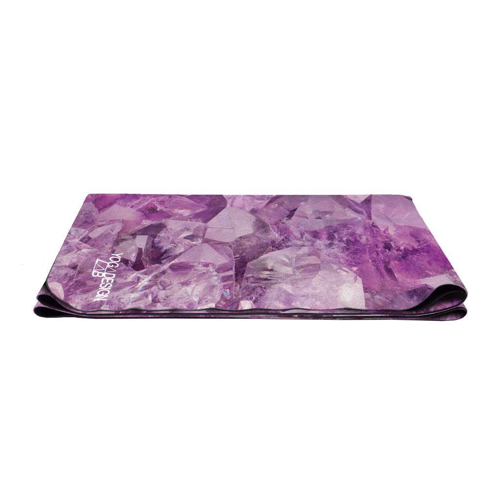 Yoga Design Lab La Esterilla de Yoga Combo de Viaje 1mm. Antideslizante | Plegable | Ligero | Ecológica | Lavable a la Máquina