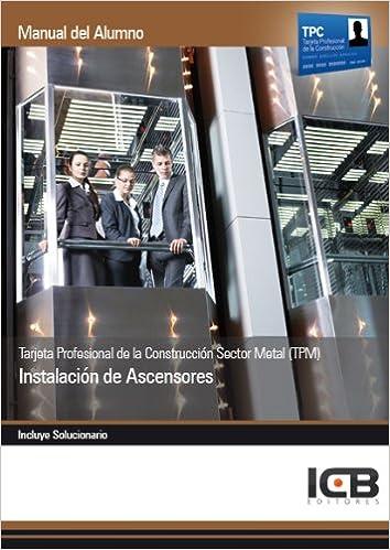 Manual tarjeta profesional de la construcción sector metal ...