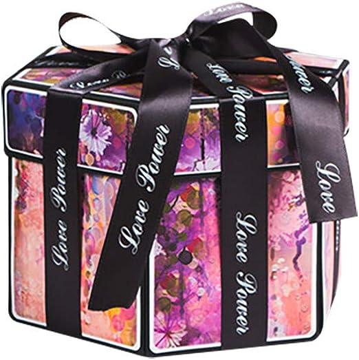 Caja de regalo sorpresa – Explosion caja DIY álbum – Caja regalo ...