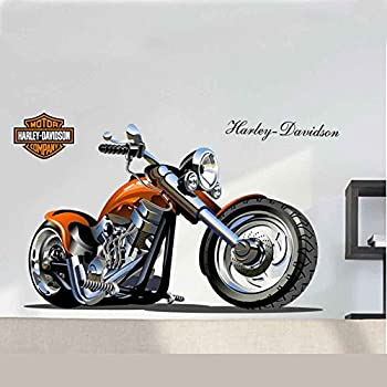 Amazoncom Harley Davidson Sticker Vinyl Decal Wall Decor - Stickers for motorcycles harley davidsonsharley davidson decalharley davidson custom decal stickers