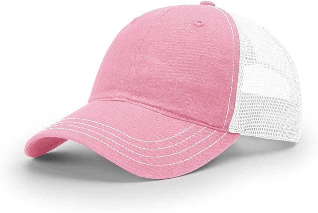 8250dcf11bdfb Richardson Sports 111 Small Pink White at Amazon Men s Clothing store