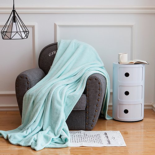 Qbedding Microplush Blanket Microfiber Turquoise product image