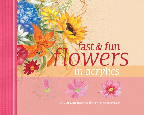 33% Acrylic (Fast & Fun Flowers in Acrylics)