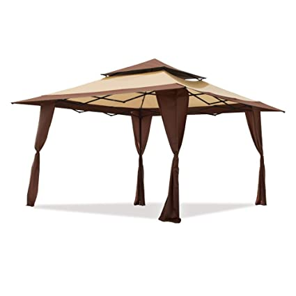This pop-up canopy gazebo boasts a 13u0027x13u0027 size and easily installs in just minutes to provide your family with a comfortable outdoor living space.  sc 1 st  Safety.com & Gazebo Buying Guide - The 50 Best Gazebos for Your Backyard in ...