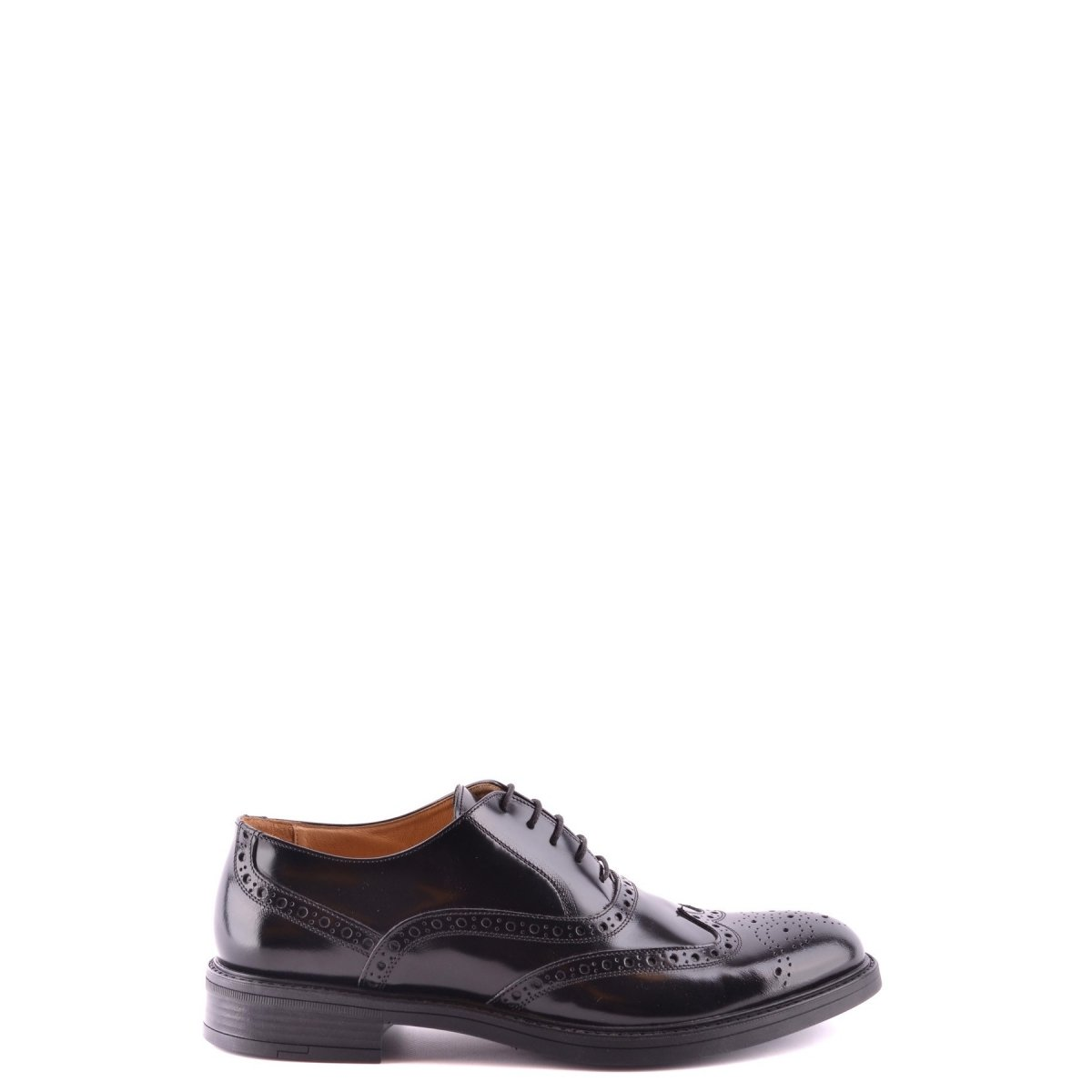 Schuhe nn283 Barbati Uomo 40 schwarz leder 40