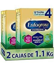Enfagrow Premium Promental Etapa 4 Alimento para niños de corta edad a base de leche sabor vainilla, paquete 2200 gramos