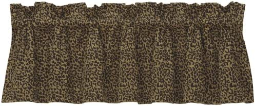 HiEnd Accents San Angelo Paisley Leopard Valance
