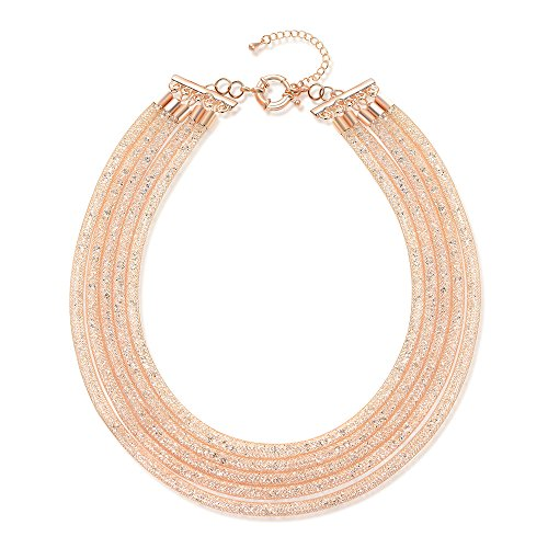 Mytys 18k Rose Gold Plated Mes