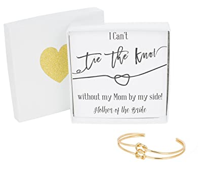 Amazon Bridesmaid Gifts Tie The Knot Mother Of The Bride Cuff