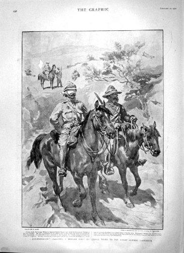 Print 1900 George White Ladysmith War Orlebar Victoria Cross - Orlebar