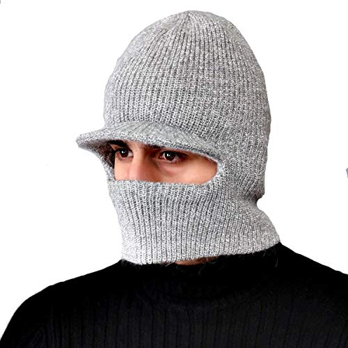 Doble de tamaño Engrosamiento de de Caliente de Invierno Cara Do Suéter de Capa Un tamaño de Hechgobuy Punto Capa de Color los B fría Hombres de Invierno Sombrero Lana de FxW8q17Ut