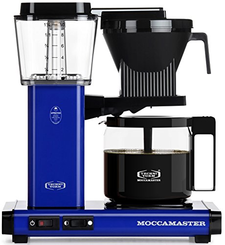 Technivorm Moccamaster 59643 KBG Coffee Brewer, Royal Blue, 40 oz