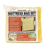 Uhaul Twin Mattress Bag Set with Built-in Handles