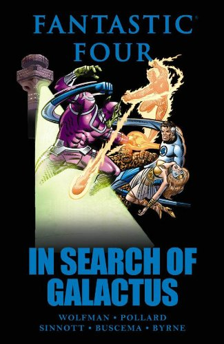 Read Online Fantastic Four: In Search of Galactus (Marvel Premiere Classic) pdf epub