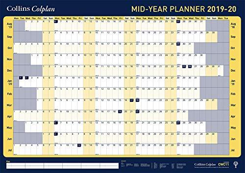 Collins Colplan A1 2019-2020 Wall Planner