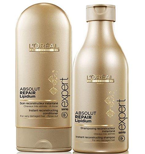L'Oreal Series Expert Absolut Repair Lipidium Shampoo 8.45oz and Conditioner 5.0 oz set