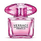 Versace Bright Crystal Absolu Eau de Parfum Spray for Women, 3 Ounce