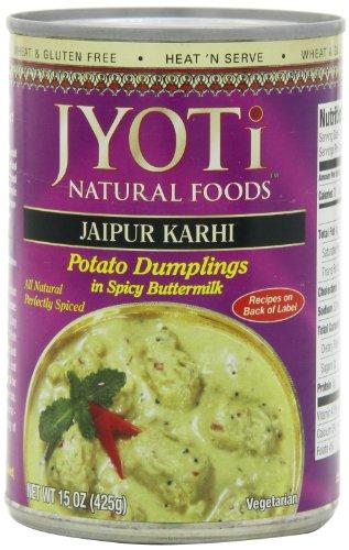 (Jaipur Karhi, Organic Potato Dumplings in Spicy Buttermilk Sauce, 425 Gram Cans, (Pack of 12))