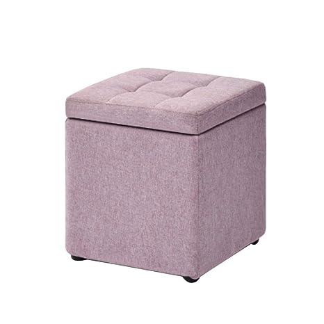Pleasing Amazon Com Hmeigui Storage Ottoman Cube Seat Foot Stools Short Links Chair Design For Home Short Linksinfo