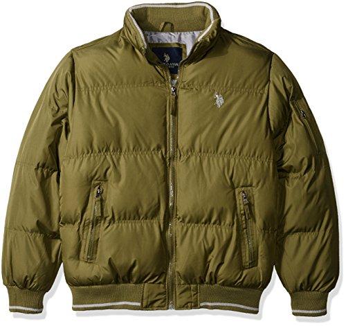 U.S. Polo Assn. Men's Classic Puffer Jacket - Large - Arm...