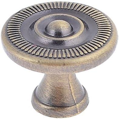 Tono eDealMax bronce atornillada cajonera 2.5cm Dia tire de la ...