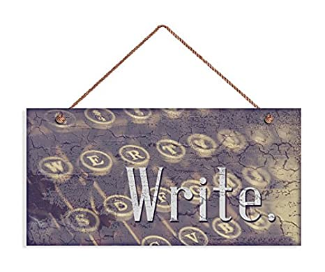 Amazon.com: Escribir Sign, rústico Decor, regalo para ...